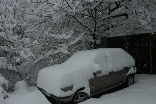 Prancūziją paralyžiavo sniegas
