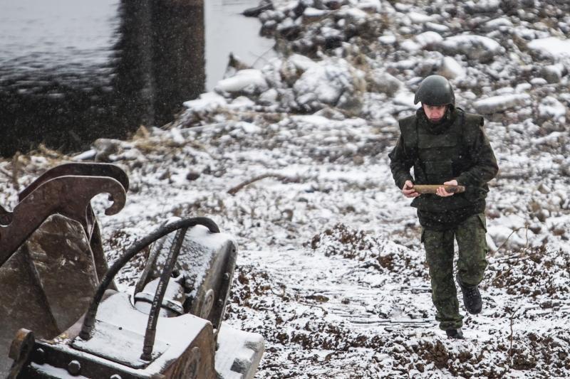 Prie Panemunės tilto rastas dar vienas karo laikų sprogmuo