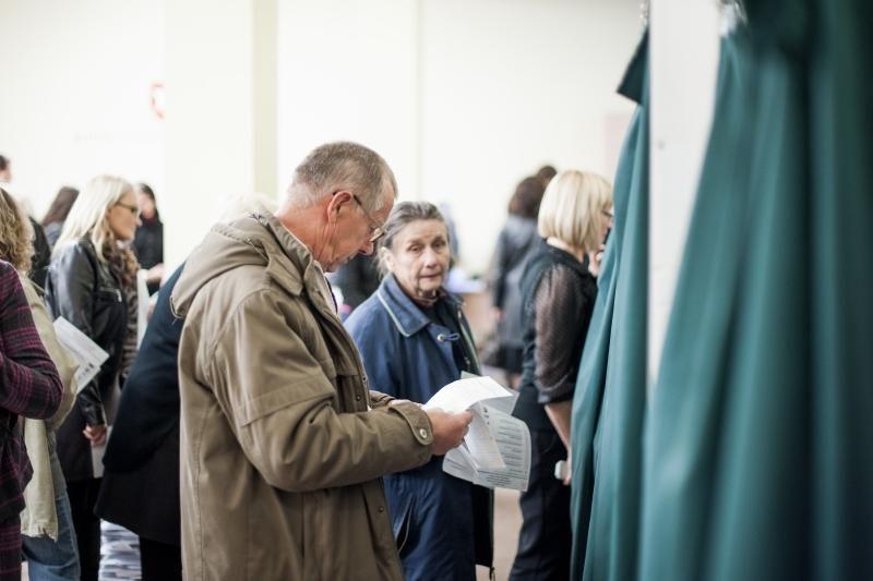 Antrąją išankstinio balsavimo dieną Kaune – ilgesnės rinkėjų eilės