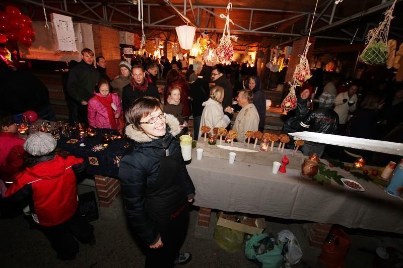 Klaipėdos turgavietę okupavo menininkai