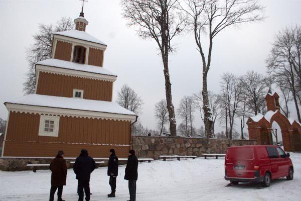 Gaisras sunaikino Labanoro bažnyčią (papildyta)