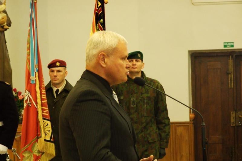 Klaipėdoje paminėta Lietuvos kariuomenės diena