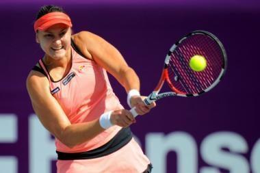 WTA serijos moterų teniso turnyro Seule favoritė nepateko į finalą