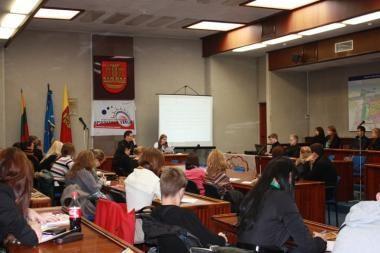 Klaipėdos jaunimas domisi teisiniu švietimu