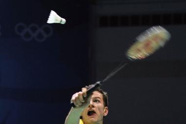 K.Navickas pergalingai pradėjo badmintono turnyrą Danijoje