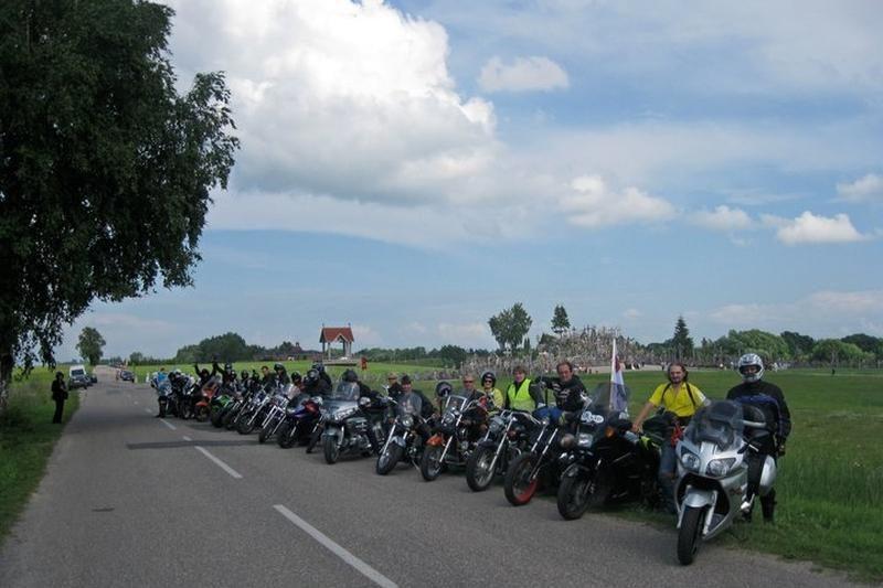 Prie paramos akcijos onkologiniams ligoniams prisideda motociklininkai