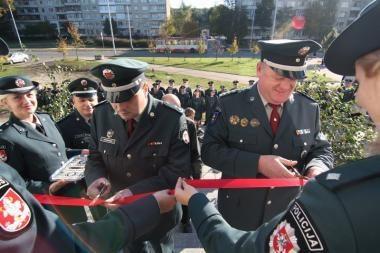 Vilniuje atidarytas naujose patalpose įsikūręs pirmasis policijos komisariatas