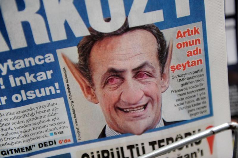 Prancūzijos Senatas uždraudė neigti armėnų genocidą (atnaujinta)