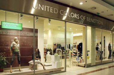 """Į Klaipėdą  grįžta  """"United Colors of Benetton"""""""