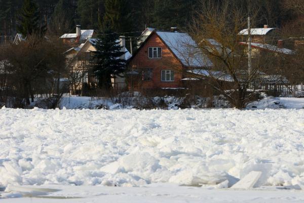 Neries ledo lytys grįžta į Vilnių