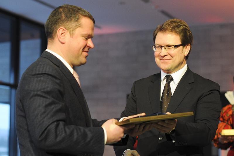 Apdovanoti Vilniaus apskrities verslininkai ir visuomenininkai