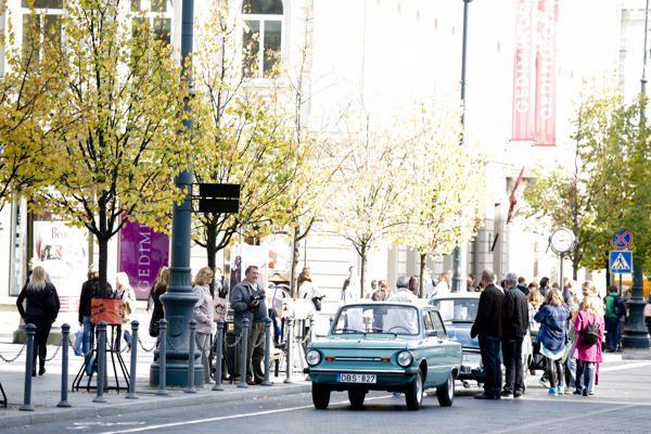Vilniuje vienai dienai atgimė legendinis Brodas