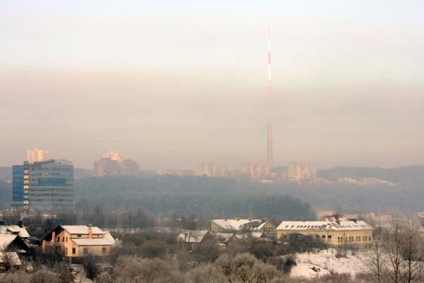 Pavojus: oro tarša Vilniuje normą viršija dvigubai