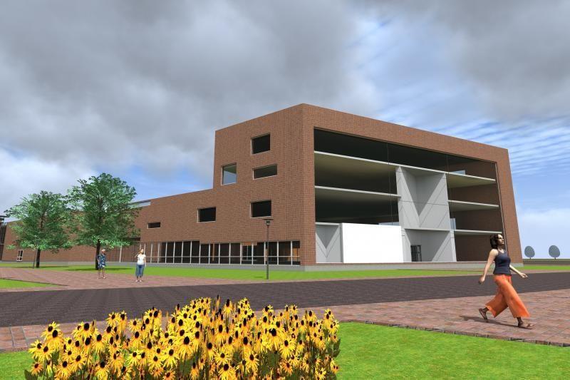 Klaipėdos universiteto miestelyje iškils modernus Verslo inkubatorius