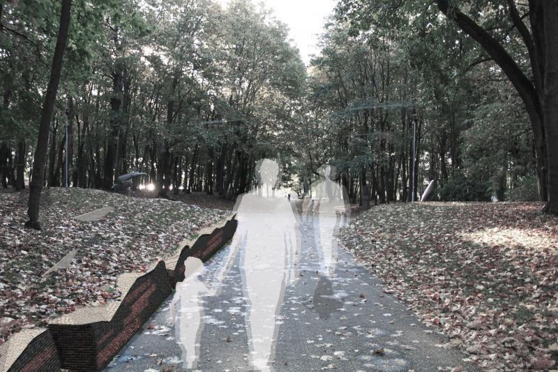 Architektų vizijos veda per Klaipėdos skulptūrų parką