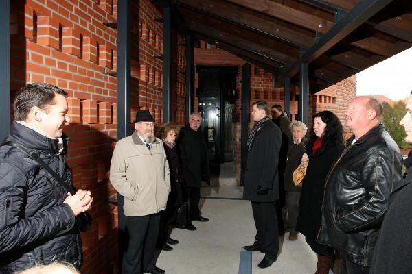 Rekonstruojamoje Kauno pilyje apsilankė ir kritikai