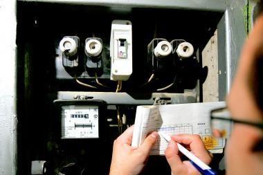 Demaskuota elektros skaitiklių rodmenų klastotojų grupuotė