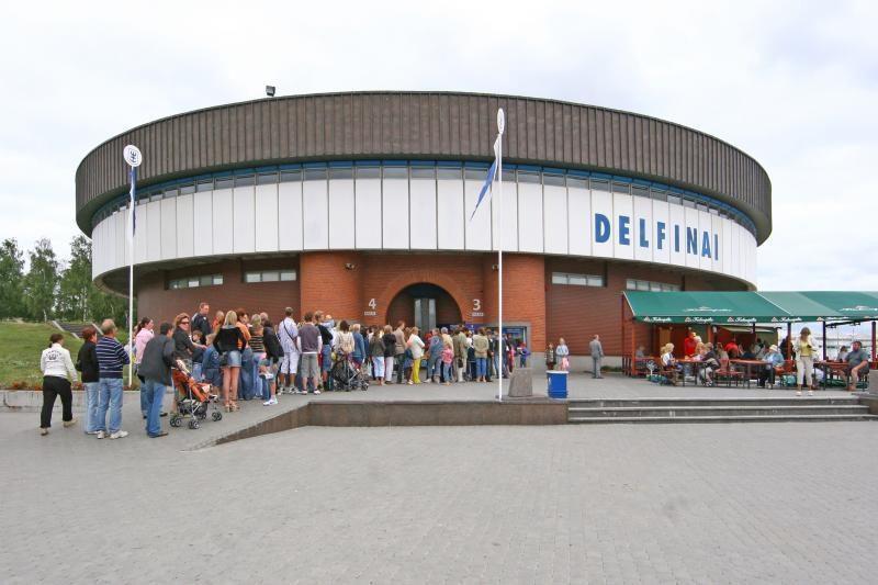 Delfinariumo rekonstrukcija stringa dėl lėšų trūkumo