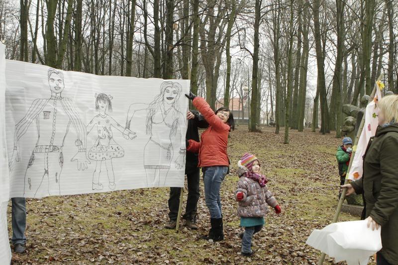 Balandžio 1-ąją Skulptūrų parke – tradicinė šeimų šventė