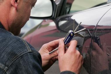 Klaipėdos apskrityje pavogti trys automobiliai