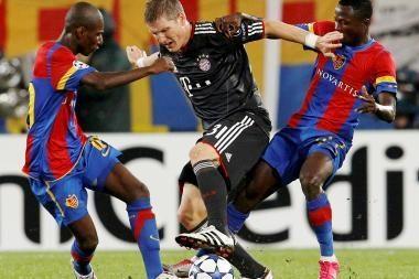"""""""Bayern"""" pergalę lėmė B.Schweinsteigerio įvarčiai"""