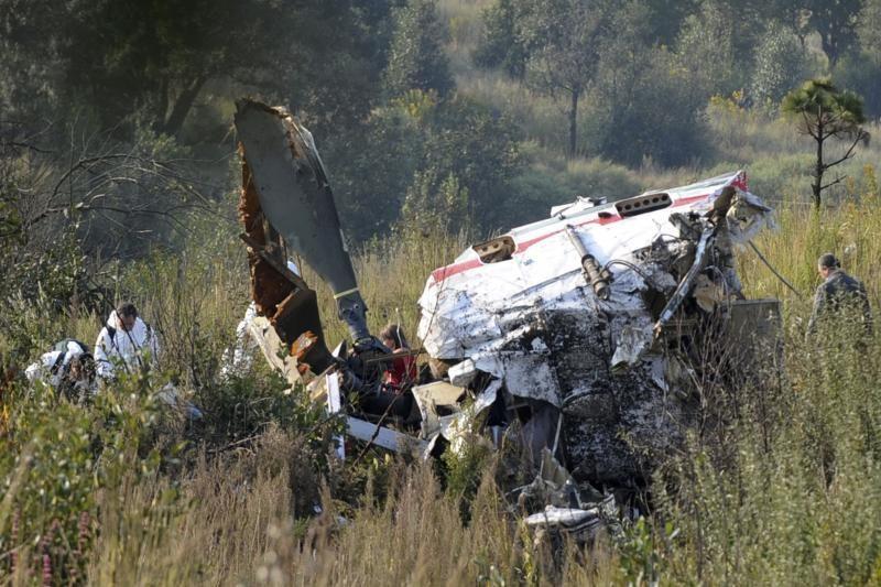 Meksikoje sudužus sraigtasparniui žuvo vidaus reikalų ministras