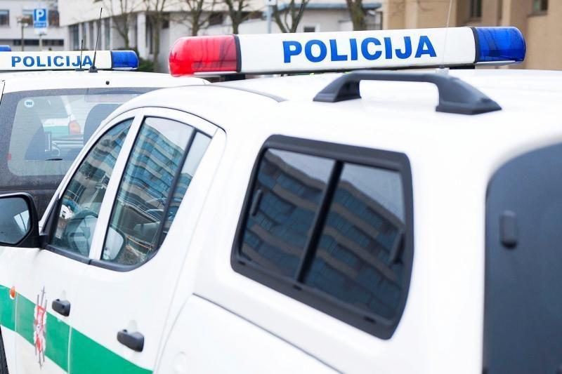 Per avariją Kaune nukentėjo policininkas