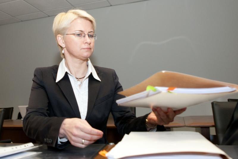 Buvusiai teisėjai N.Venckienei nutraukta drausmės byla