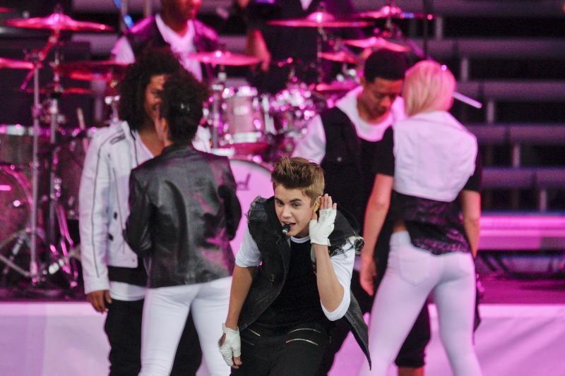 Dėl nemokamo Justino Bieberio koncerto – chaosas Norvegijoje