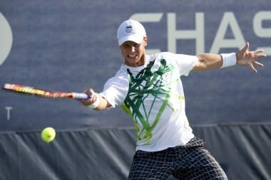 R.Berankis po įtemptos kovos pralaimėjo penkioliktajam pasaulio tenisininkui