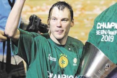 Š.Jasikevičius trečią kartą tapo Graikijos čempionu