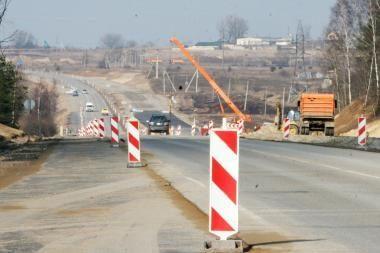 Kelias į Palangą jau atviras vairuotojams