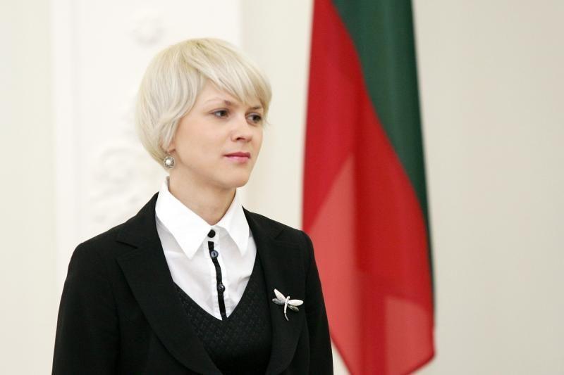 Prezidentės patarėja S. Cirtautienė išeina motinystės atostogų
