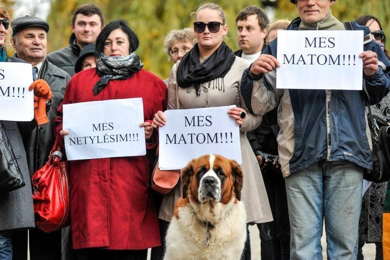 Neparduoti savo balso per rinkimus ragino ir šuo