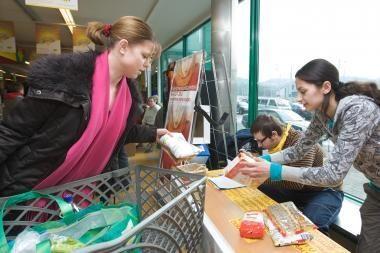 """Klaipėdiečių aukos pranoko """"Maisto banko"""" lūkesčius"""