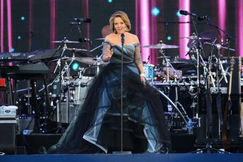 Britų karalienė įspūdingai užbaigė jubiliejinį koncertą