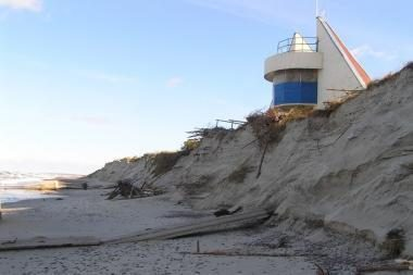 Uragano nusiaubtam pajūriui – 300 tūkst. litų