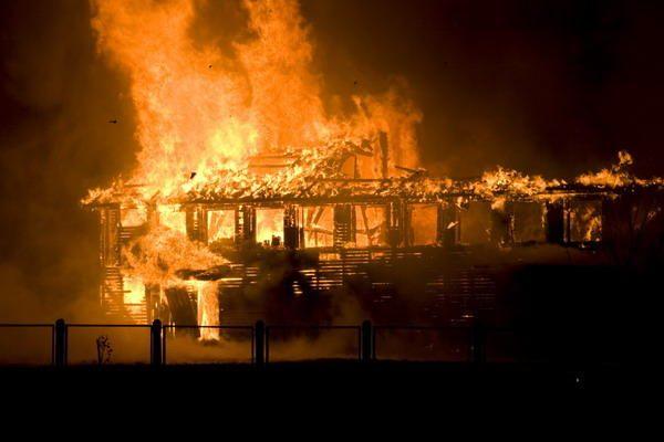 Klaipėdoje sudegė bažnyčia