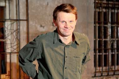 """""""Naktigonių"""" festivalyje svečiuosis aktorius R.Kazlas"""