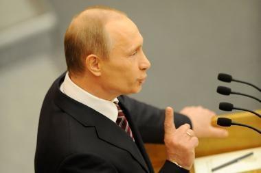 Meno kritiku tapusiam V.Putinui nepatiko kardo ilgis