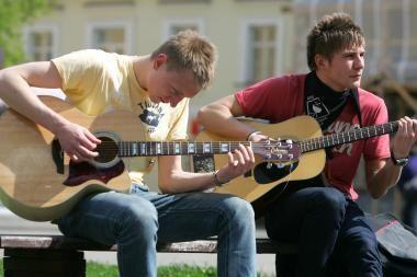 """Gatvės muzikos diena"" ieško filmo bendraautorių"