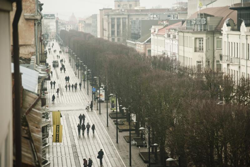 Kol Kaunas trypčioja, Laisvės alėją įsirengs gruzinai?