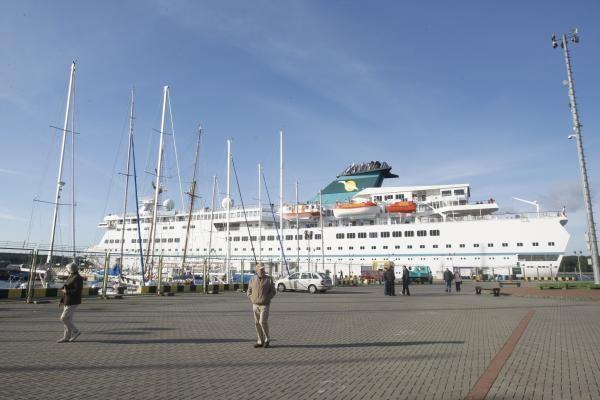 Klaipėdoje baigiamas kruizinių laivų sezonas