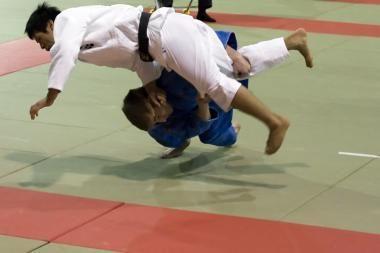 Baltijos dziudo čempionate lietuviams - penki aukso medaliai