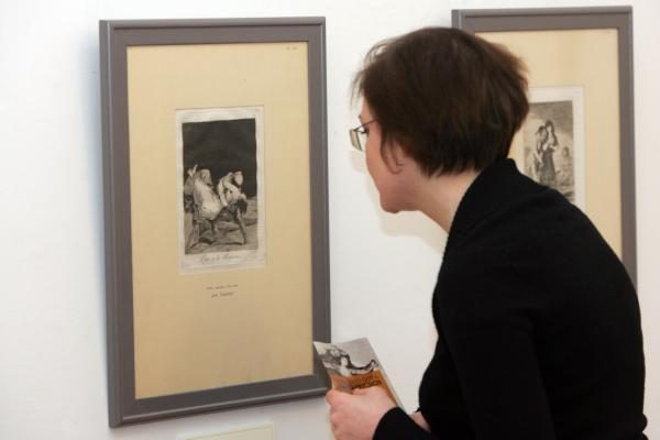 Ispanų genijus F.Goya Vilniuje atskleidžia tamsiąją žmogaus pusę