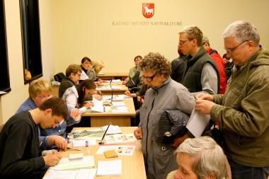 Prezidento rinkimuose jau balsavo 4,41 proc. rinkėjų