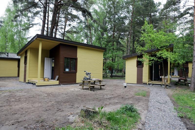 Pajūrio kempinge namelių nuomos kainos sieks šimtus litų