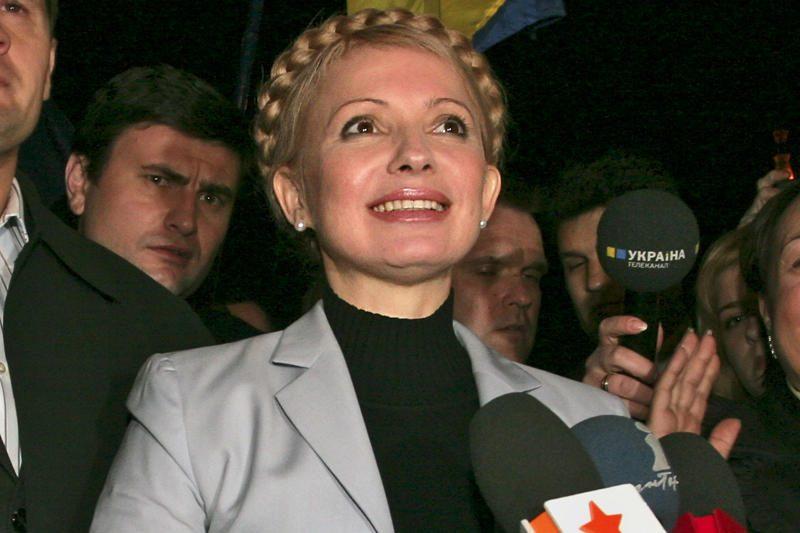 Prezidentė Ukrainoje ketina susitikti su J.Tymošenko