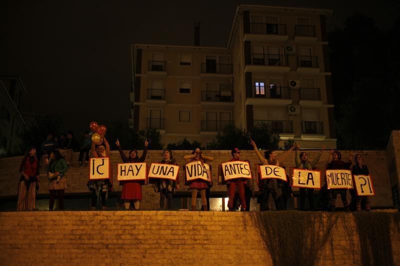 Ispanų protestuotojai susirėmė su policija