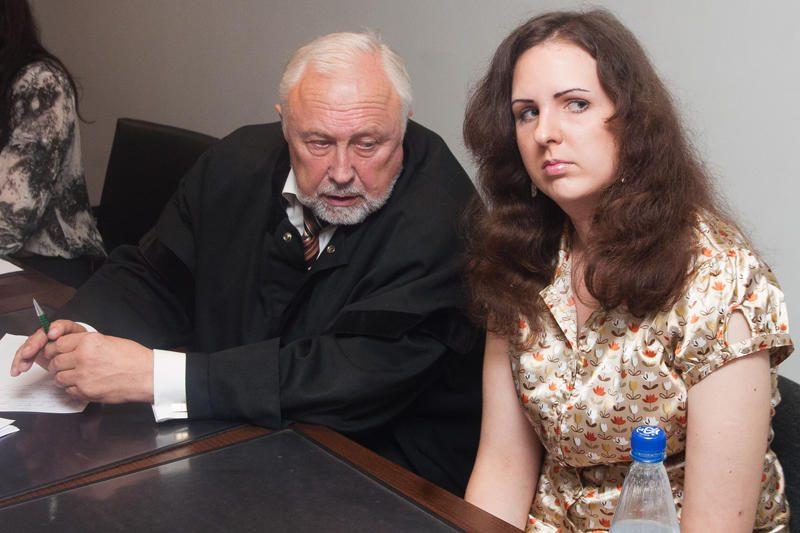 Už grasinimus E.Kusaitei siūloma lygtinė laisvės atėmimo bausmė